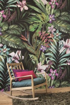 Garden by Casadeco - Green Multi-Colour - Mural - PANA 8134 72 35 The new Casadeco Panama wallpaper collection has some amazing tropical designs.The new Casadeco Panama wallpaper collection has some amazing tropical designs.