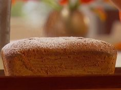 Look at this recipe - Halloween spice cake - from Giada De Laurentiis and other tasty dishes on Food Network. Spice Cake Recipes, Pound Cake Recipes, Dessert Recipes, Bread Recipes, Pumpkin Pound Cake, Biscuits, Giada De Laurentiis, Unsweetened Applesauce, Sweet Bread