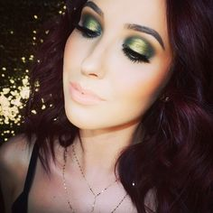From - Nobody does an olive green smoky eye quite like Did you see this gorgeous look she put together using a few Makeup Geek Eyeshadows? Featured here are: Desert Sands Dirty Martini Enchanted Forest (correction) Jester (foiled) Gorgeous Makeup, Love Makeup, Makeup Inspo, Makeup Inspiration, Makeup Looks, Makeup Ideas, Crazy Makeup, Makeup Designs, Eye Makeup Tips