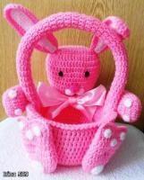 Bunny Basket. FREE PATTERN 5/14.