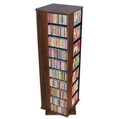 Organize an entire media collection in this four-sided, revolving media tower! Designed just like the Venture Horizon Revolving Media Tower Cd Storage, Media Storage, Even And Odd, Aleta, Wood Laminate, Own Home, Multimedia, Wall Art Decor, Home Accessories