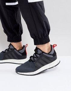 adidas Originals X PLR Boot Sneakers In Black BZ0669 at asos.com 16b10d5d42fb3