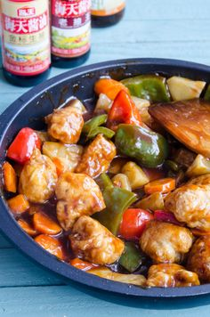 Kung Pao Chicken, Cooking, Sweet, Ethnic Recipes, Ice Cream, Pork, Pineapple, Salads, Kitchen