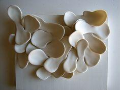 new porcelain piece by Presley*, via Flickr  Presley Martin