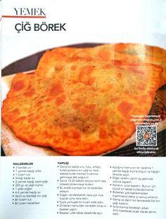 Çiğ börek Ethnic Recipes, Food, Essen, Meals, Yemek, Eten
