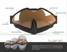Hybrid Snowboarding Goggle by Charles Han at Coroflot.com