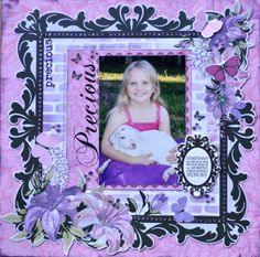 Made using the Violet Crush Collection from Kaisercraft. By Kelly-ann Oosterbeek. Scrapbook Blog, Scrapbooking Layouts, Scrapbook Pages, Kids Pages, Wedding Scrapbook, Crushes, Projects To Try, Ann, Pin Interest