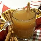 Hot Spiced Cider, made 12/17/11 using crock pot, turned out wonderfully, especially with a little added rum!