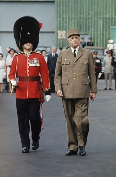 Charles de Gaulle the last Giant of the French history.