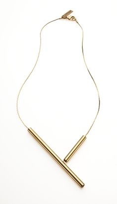 2 tubes necklace / Noritamy