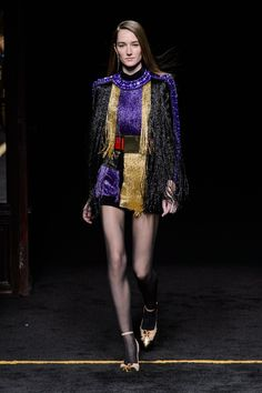 Balmain at Paris Fashion Week Fall 2015 | Stylebistro.com