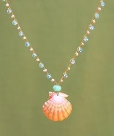 Sunrise Shell Necklace