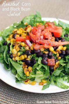 Roasted Corn and Black Bean Salad on MyRecipeMagic.com