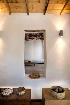 renovated greek fisherman's house in koroni  via the style files