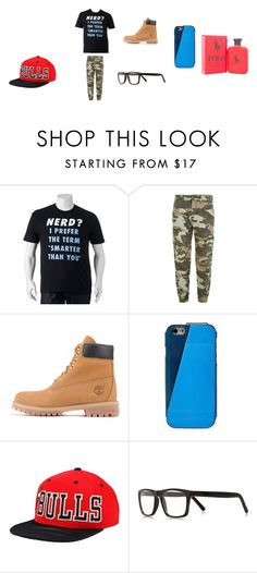 """Boy outfit"" by jtbae on Polyvore featuring True Religion, Timberland, FOSSIL, adidas, River Island, Ralph Lauren, men's fashion and menswear"