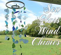 DIY Wind Chimes Tutorial: Sea Glass Crafts