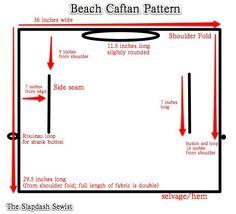 Beach Caftan Pattern ........ yeah, I need a million of 'em!
