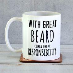 'Great Beard' Man Mug - gifts for him