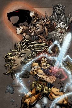 The Thundercats, Transformers and Masters of the Universe fan-art blog!