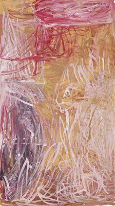 Emily Kame Kngwarreye / Merne-Bush Tucker, My Country, 1995 190.5 x 107cm