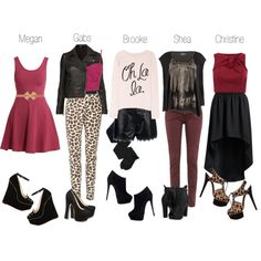 First Gig, created by gab-ree-ella on Polyvore