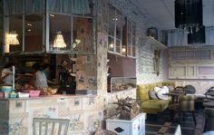 Interior of Le Petit Cafe, Haga