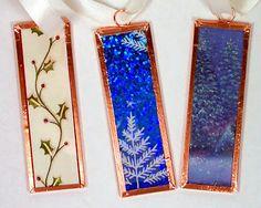 Joyful Creativity: Microscope Slide Christmas Ornaments