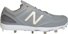 A minimus New Balance baseball cleat. New Balance Baseball Cleats, Baseball Bases, Metal Baseball Cleats, Baseball Scoreboard, Braves Baseball, Baseball Uniforms, Louisville Slugger, New Balance Men, Sneakers