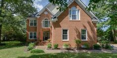 Spectacular brick colonial in Gatling Pointe! 4bdm, 2.5 bath on .4 acres. Large deck with custom patio/fire pit leads to park-like backyard! Inside shows like new build. Custom kitchen w/granite open to great room creating a fantastic flow. Master bedroom has fireplace and master spa. A MUST SEE!!