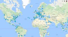 This map reveals Wi-Fi passwords for airports around the world - The indy100