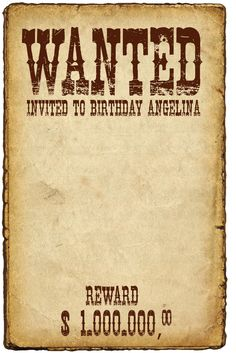 cartel wanted birthday party