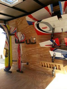 Inside my Airplane Trailer