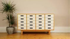 Vintage Esavian (ESA) Chest of 20 Drawers/Haberdashery 1950s