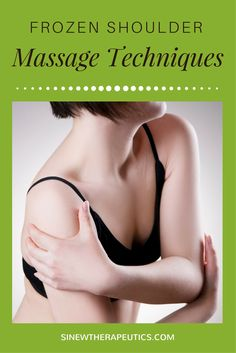 These massage techniques are of great value in frozen shoulder pain relief; circulation stimulation; dispersing blood and fluid accumulations; swelling reduction; and relaxing muscle spasms, especially when used alongside the Sinew Therapeutics liniments and soaks.