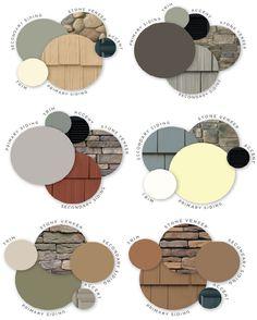 New exterior house siding ideas vinyls paint colors ideas Vinyl Siding Colors, Exterior Siding Colors, Painting Vinyl Siding, Craftsman Exterior Colors, Vinyl Shake Siding, Roof Shingle Colors, Cedar Shake Siding, Farmhouse Exterior Colors, Siding Colors For Houses