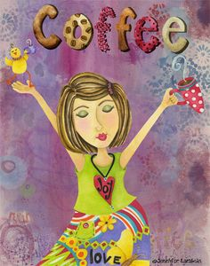Coffee ✯ ♥ ✯ ♥ C(_) •♥•✿ڿ(̆̃̃• ✯ ♥ ✯ ♥ Coffee Joy! I get this every morning. I miss coffee when I am sick lol.