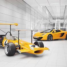 Magnificent McLaren's - Yellow Car