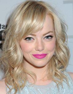 Love this bright pink lip