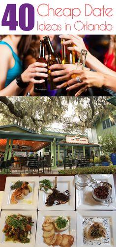 40 Cheap Date ideas in Orlando