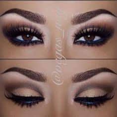Gorgeous makeup for brown eyes by Parul Gupta
