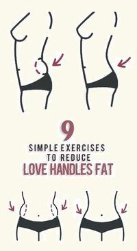 9 Best Exercises to Reduce Love Handles fat.