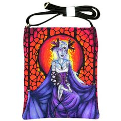 """""""The Chained Queen"""" Shoulder Sling Bag via ArtsNow.com"""