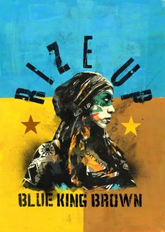 Rize Up (Radio Cut) - Single by Blue King Brown Divine Feminine, Up King, Hippie Jewelry, Try It Free, Blue Bird, Master Chief, Album Covers, Graffiti, Feelings