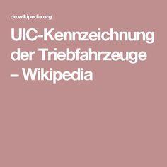 UIC-Kennzeichnung der Triebfahrzeuge – Wikipedia