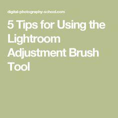 adjustment brush tool lightroom 5