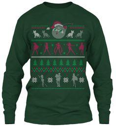 """Senshi - Ugly Christmas """"Sweater"""" Tee"""