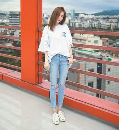 Official Korean Fashion : Korean Daily Fashion #koreanclothingstyles