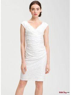 Short Lace Reception Wedding Dresses