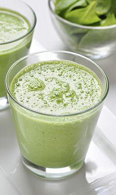 Suco verde antibarriga da Mimis