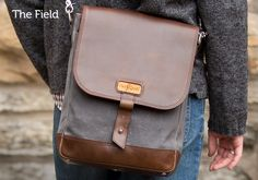 The Field Bag by Pad & Quill Damn nice bags...